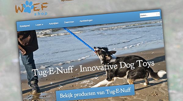WOEFshop - webshop in hondenspeeltjes